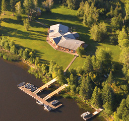 Fly-in to one of Halley's all-inclusive lodges.