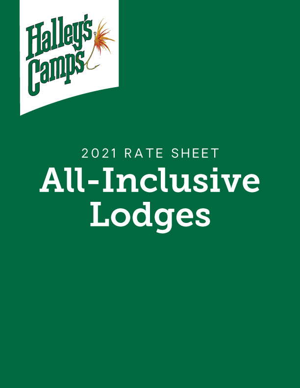 2021 Rate Sheet - All Inclusive Lodges