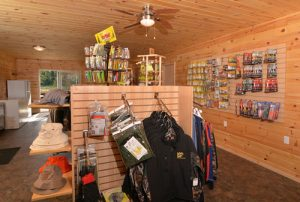 Fishing gear and tackle available at our pro tackle shop.